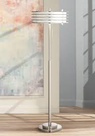 possini euro design lighting possini euro design retro light blaster floor l amazon com