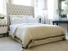 Candiac Upholstered Bedroom Set Bed Ideas Upholstered Platform Tufted King Bed In Beige For