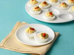 deviled egg dish traditional southern deviled eggs recipe paula deen food network