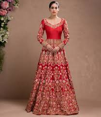 bridal gown and gold heavy embroidered bridal gown happy shappy india s o