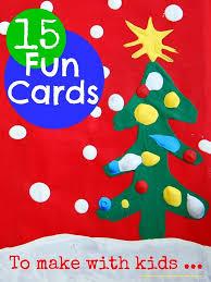 christmas cards to make christmas cards with kids mums make lists