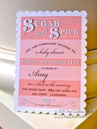 sugar and spice and everything baby shower sugar and spice and everything baby shower invitations baby
