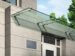 steel system is the reliable glass canopy provider in london they