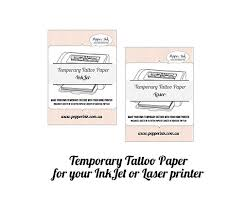 temporary tattoos made in australia pepper ink diy temporary