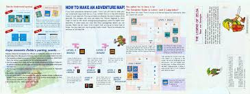 legend of zelda map with cheats the adventure of hyrule the legend of zelda maps and strategies