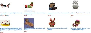best collections of dachshund christmas ornament all can