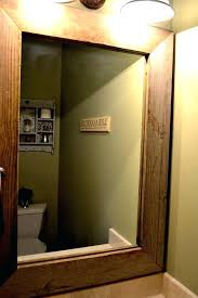 cherry wood bathroom mirror cherry wood framed bathroom mirrors stainless steel mirror