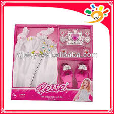 latest pretty princess dresses princess dress up set toy for girls
