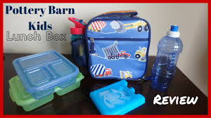 Pottery Barn Planetbox 2016 Pottery Barn Kids Mackenzie Classic Lunch Box Review