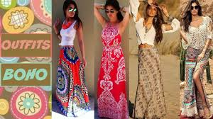 moda boho hippie chic lovely dress and platforms combo bindoo moda boho e