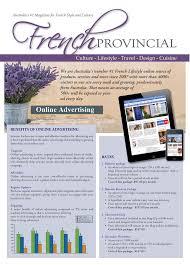 french provincial magazine u2014 australia u0027s 1 magazine for french