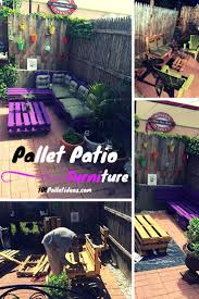 Pallet Patio Furniture Ideas by Patio Sitting Furniture Made From Pallets