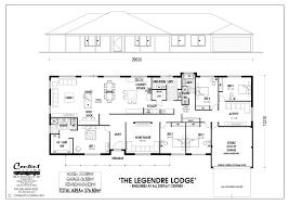 Cote D Azur Floor Plan by Legendre Lodge 5 Bed 2 Bath 32 6m 377m2 Farmhouse 249 624