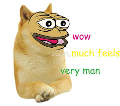 Much Wow Meme - much wow pepe doge meme art prints by woeally redbubble