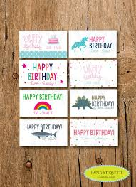 gift cards for kids personalized gift enclosure card mini birthdaycards personalized