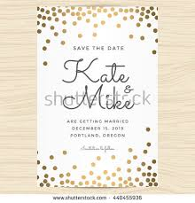 save date wedding invitation card template stock vector 425776396