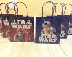 wars gift bags wars goody bag etsy