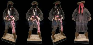 jack sparrow costume spirit halloween sparrow u0027s coat vented back and stitching open french cuff with
