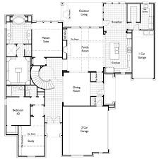 new home plan 6741 in prosper tx 75078