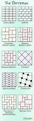 pattern ideas cute tile arrangement patterns gallery the best bathroom ideas