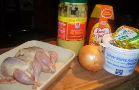 cuisiner des cailles au four recette caille miel moutarde aux petits oignons cuisinez caille