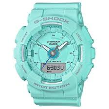 light blue g shock watch amazon com ladies casio g shock s series light teal step tracker