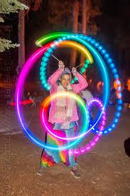 spinning light morphing led poi