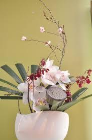 Japanese Flower Vases Japanese Ikebana Arrangement For Shue Uemura Event Yuga Cafe And