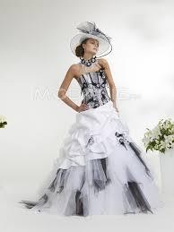 robe de mari e noir et blanc robe de mariée noir et blanc http www modanie fr en couleur sur