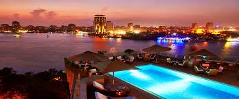 luxury 5 star hotel kempinski nile hotel garden city cairo