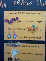 adventures in teaching halloween rebus poem u0026 freebie