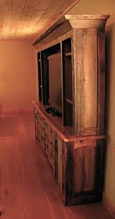 Barn Wood Entertainment Center Best 25 Rustic Entertainment Centers Ideas On Pinterest Rustic