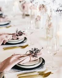 Gold Table Decorations Best 25 Romantic Table Setting Ideas On Pinterest Rose Gold