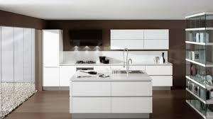 ilot cuisine blanc cuisine blanc laque avec ilot 2 charmant 11 moderne systembase co