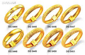 anting emas 24 karat zhulian gold plated perhiasan lapis emas 24karat