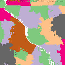 rock zip code map rock island county illinois zip code boundary map il