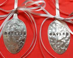 silver ornament etsy