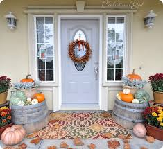 Pictures Of Front Porches Decorated For Fall - front porch fall decor 10 beautiful front porch displays a