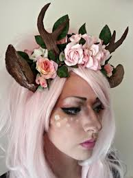 Unicorn Halloween Makeup by Shironuri Deer Head Dress La Boutique Demone Online Store
