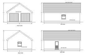 garage plan garage design services m f kelly associates mullingar