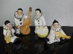 singer statue sculpture figurine jazz band collection
