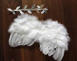 Angel Wings Halloween Costume Feather Angel Wings Etsy
