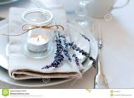 provence style table setting royalty free stock photography
