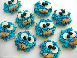 cookie monster cookies recipe and tutorial in u0027s kitchen