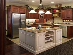 Kitchen Center Island With Seating by Kitchen Room Long White Wooden Kitchen Island Storage Brown