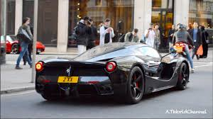 gold ferrari laferrari batmobile ferrari laferrari driving in london youtube