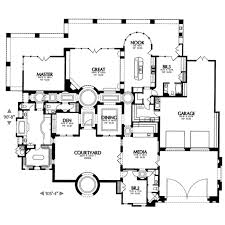 adobe southwestern style house plan 3 beds 3 50 baths 3892 sq