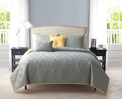Yellow And Grey Bed Set An Introduction To Gray And Yellow Bedding Sets Lostcoastshuttle