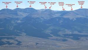Map Of Colorado 14ers by Mount Sheridan Colorado 13 748 U0027 My Hike And Photos