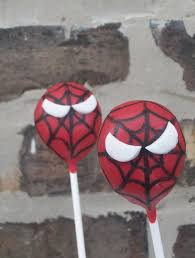 spiderman cake pops the cake poppery flickr